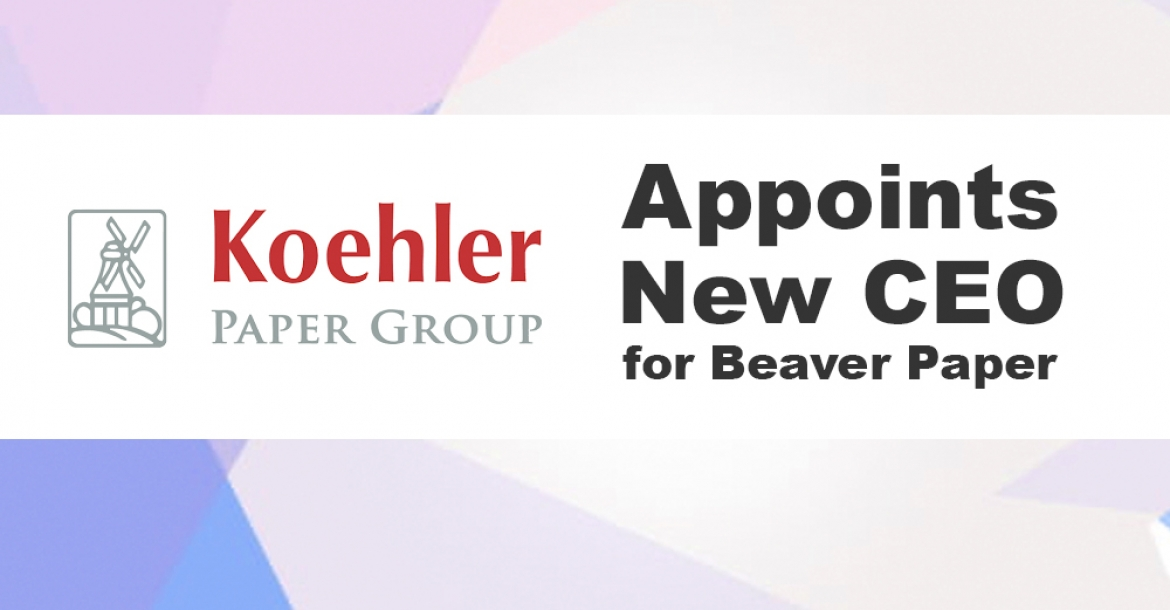 Koehler Paper Group Appoints New CEO for Beaver Paper