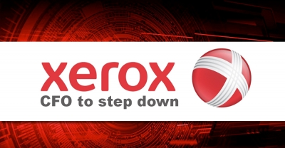 Xerox Chief Financial Officer to step down