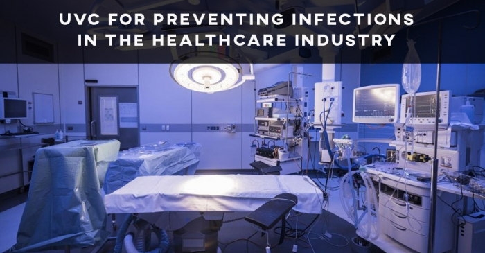 UVC for preventing infections in the healthcare industry