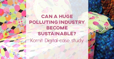 Can a huge polluting industry become sustainable? | Kornit Digital case study