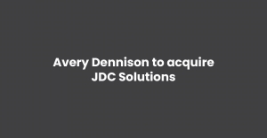 Avery Dennison to acquire JDC Solutions