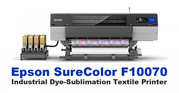 Epson SureColor F10070 Industrial Dye-Sublimation Textile Printer