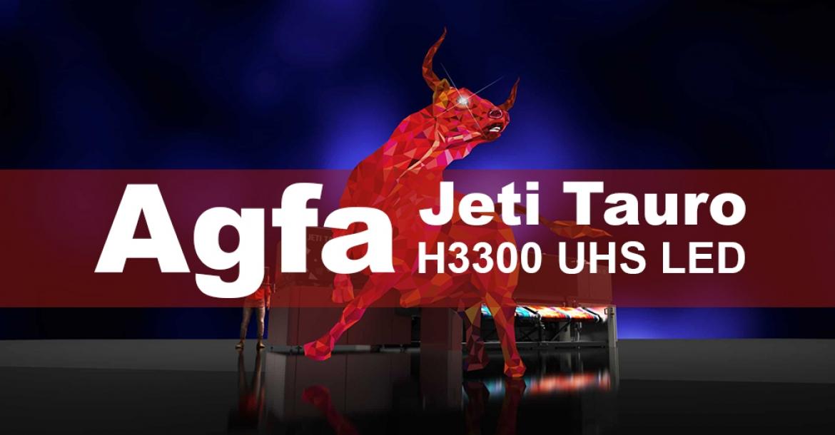 Agfa introduces the new Jeti Tauro H3300 UHS LED
