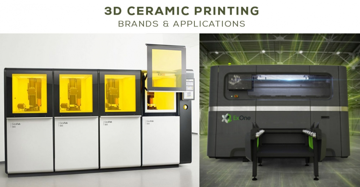 3D Ceramic Printing Brands & Applications
