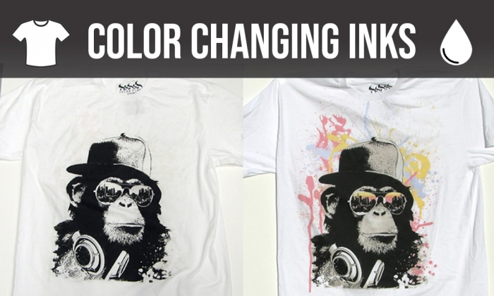 Color changing T-shirt are a novelty and they come in several formats and types of color activation.