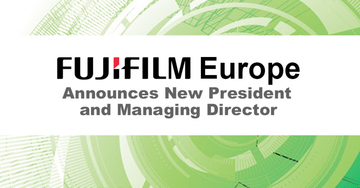 Fujifilm Europe Announces New President And Managing Director